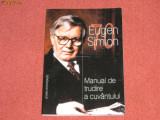 Eugen Simion - Manual de trudire a cuvantului