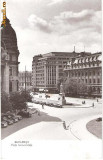 CP 210-81 Bucuresti - Piata Universitatii(masini de epoca) -RPR -circulata 1960 -starea care se vede, are la un colt, pe spate, urma de la dezlipire