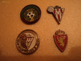 Set 4 insigne fotbal