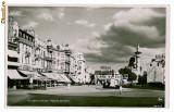 1911 - CONSTANTA, Piata Ovidiu, restaurant - old PC, real foto - unused