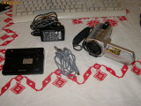 Camera video SONY DCR-SR32E + toate accesoriile + Geanta, Hard Disk, CCD, 2-3 inch
