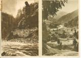 VALEA JIULUI;VALEA LOTRULUI LA VOINEASA;LUPENI -CIRCULATE ANII 1956-58 4 VEDERI