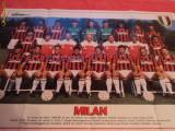 Poster AC MILAN - sezonul `88 - `89
