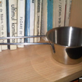 Cupa din inox inoxidabil (bun ca si candela pentru tamaiat) / F48