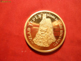 Placheta -Vlad Tepes -540 Ani Bucuresti -tiraj f. redus