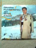 Nicolae Furdui Iancu Noi suntem romani album disc vinyl muzica populara folclor