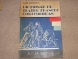 Dictionar de teatru francez contemporan - Elena Gorunescu