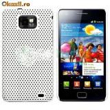 Husa Samsung Galaxy S2 i9100 i9105 + stylus + folie protectie display - Husa Telefon Samsung, Alb, Plastic