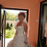 Rochie de mireasa somon