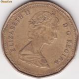 Canada - 1 Dollar 1988 - Elizabeth II - al doilea portret