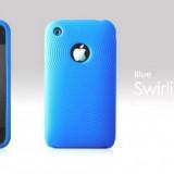 HUSA SILICON iPHONE 3G 3Gs - more SWIRLING SERIES [LB] - Husa Telefon Apple