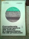 Complexe bioenergetice ale solului si capacitateasa de productie carte stiinta, Alta editura