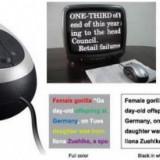 Sistem pentru citit tip mouse, pentru cei cu vedere slaba