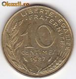 Franta 10 Centimes 1987