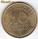 Franta 10 Centimes 1990