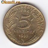 Franta 5 Centimes 1992