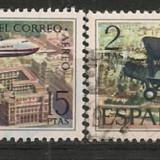 Spania 1971 POSTA AERIANA AVIOANE DE PASAGERI, serie stampilata B269 - Timbre straine, Europa, Transporturi