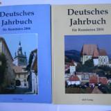 2 ANUARE ALE GERMANILOR DIN ROMANIA/TRANSILVANIA, BOGAT ILUSTRATE, BUCURESTI, ADZ - Istorie