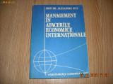 MANAGEMENT IN AFACERILE ECONOMICE INTERNATIONALE-Prof. Dr. Alexandru Puiu