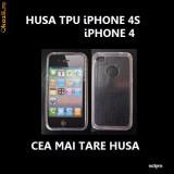 HUSA iPHONE 4S / iPHONE 4 - TPU CLEAR - CARCASA iPHONE 4S - HUSA TPU iPHONE 4 / iPHONE 4S - Husa Telefon Apple, iPhone 4/4S, Gel TPU