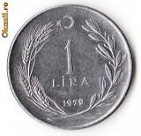TURCIA 1 LIRA 1979