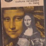 CULTURA RENASTERII IN ITALIA, VOL. I; JAKOB BURCKHARDT - Carte Cultura generala