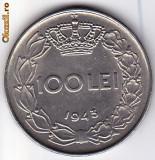 7.Regele Mihai,100 lei 1943 XF/a.UNC