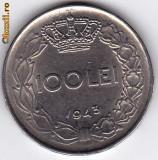 11.Regele Mihai,100 lei 1943 XF/a.UNC