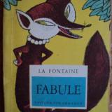 FABULE - LA FONTAINE - carte pentru copii.