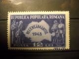 VOC LP226 Recensamantul 1948 MNH