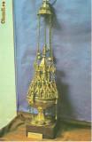 CP 213-17 Manastirea Putna. Cadelnita daruita de Stefan cel mare(sec.XV) -necirculata-starea care se vede-carte postala