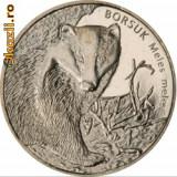 Polonia 2 zloty 2011 UNC Bursuc