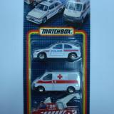 MATCHBOX, SET DE 3 AUTOSPECIALE ++1799 DE LICITATII !! - Macheta auto