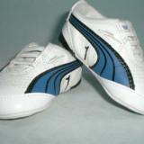 Pantofi bebelusi Puma - originali - marime 17 - Adidasi copii, Alb