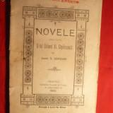 Lt. N. Leoveanu - Novele - ed. 1902 -Prima Ed. - Nuvela