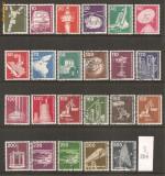 TSS08 GERMANIA, SERII STAMPILATE