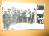 Carte postala cercetasi uniforma palarie goarna plaja