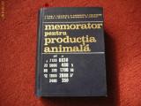 Memorator pentru productia animala - (Colectiv de autori)