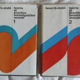 Henri H. Stahl Teoria si practica investigatiilor sociale 2 vol. ed. St. 1974-1975 - Carte Sociologie