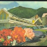 CARTE POSTALA - POIANA BRASOV HOTELUL TELEFERIC - Carte Postala Transilvania dupa 1918