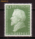 GERMANIA G293 Aniversare Hemann Schulze-Delitzsch---1958