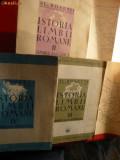 Al.Rosetti - Istoria Limbii Romane vol. 2,3si4 1938-1941-Prime Editii