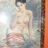 ARTA,PICTURA-LITOGRAFIE PICTOR '' P.SARDAR '' 1895