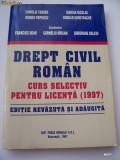 Cumpara ieftin DREPT CIVIL ROMAN , CURS SELECTIV PENTRU LICENTA 1997