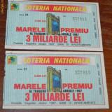 BILETE LOTERIA NATIONALA 1997. BILET LOTERIE