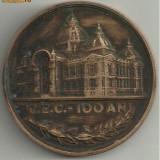 Medalia bronz CENTENAR CEC 1864-1964 - Medalii Romania