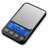 Cantar electronic digital de precizie, platou inox pt bijuterii-XTB 1000g x 0.1g - Cantar bijuterii