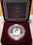 5.114 CANADA FIERARI 1 DOLLAR 1988 PROOF ARGINT 23,3g cutie, certificat, America de Nord
