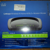 Linksys Wireless-N ADSL2+ Router - Router wireless