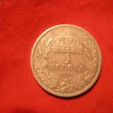 1 Kor. 1896 Ungaria, argint, F.Josef, cal.F.Buna